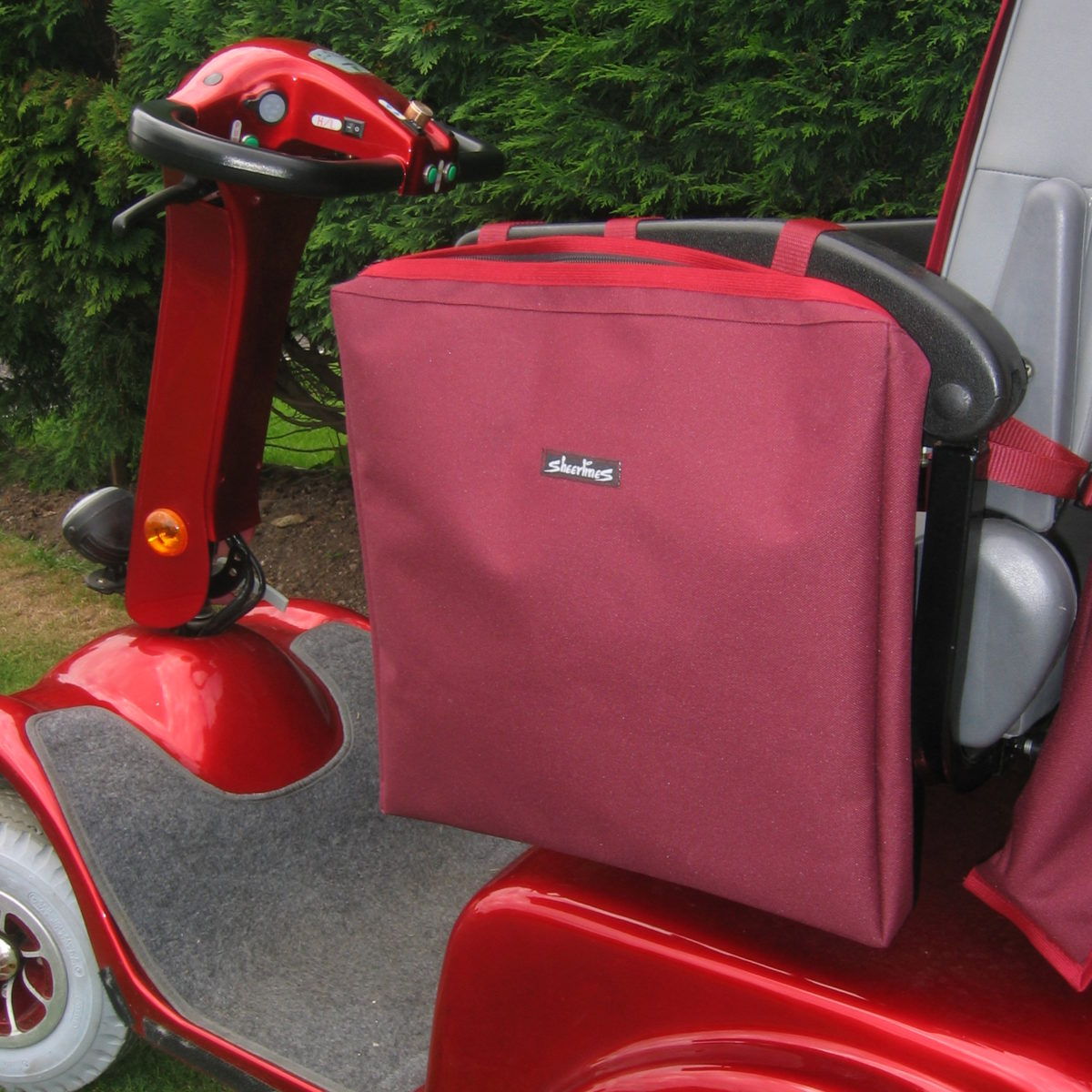 Bolsa auxiliar lateral para scooter electrico