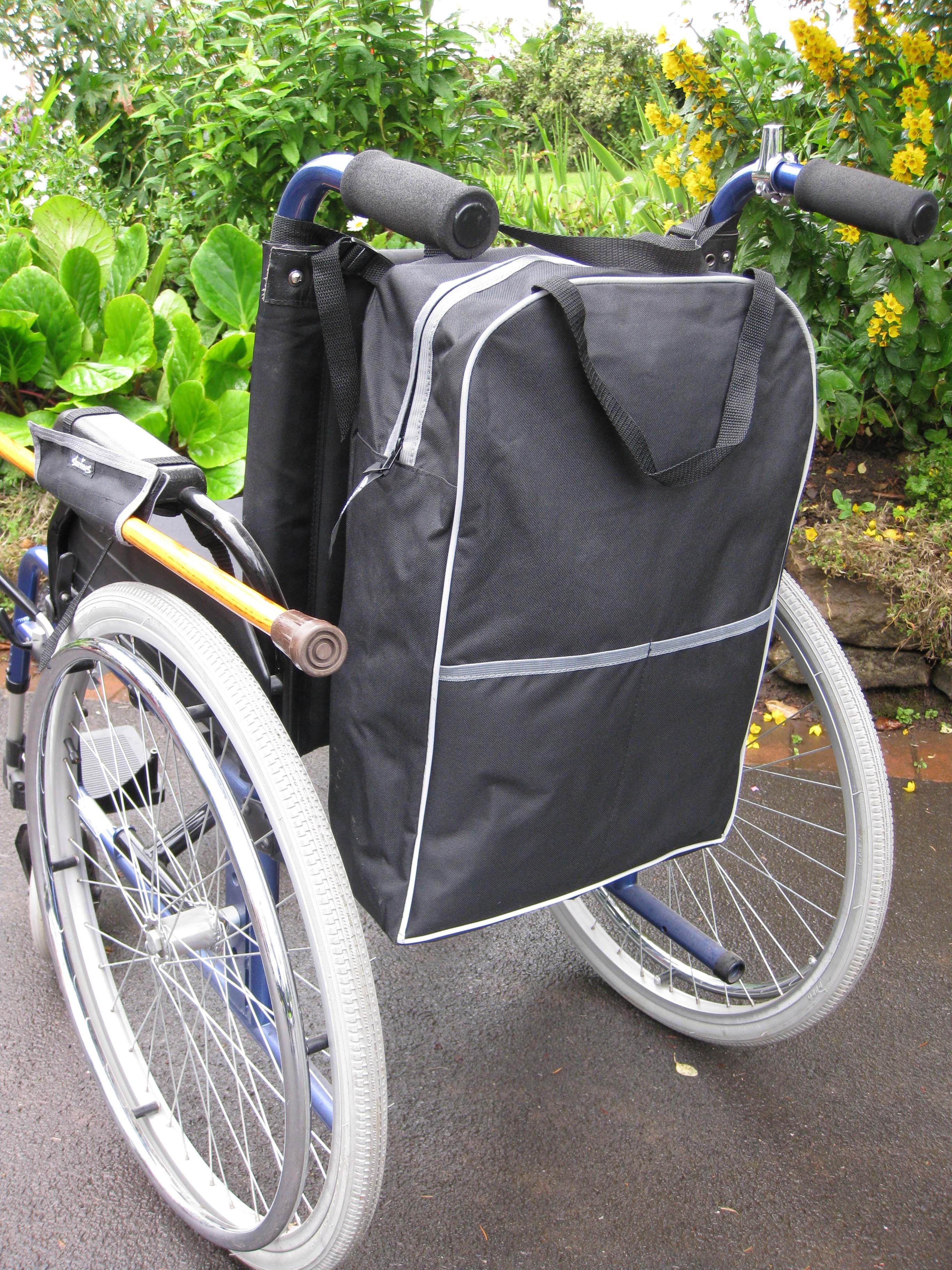 Mochila para silla de ruedas moviscooters sillas de ruedas scooters - Alquiler de sillas de ruedas electricas ...