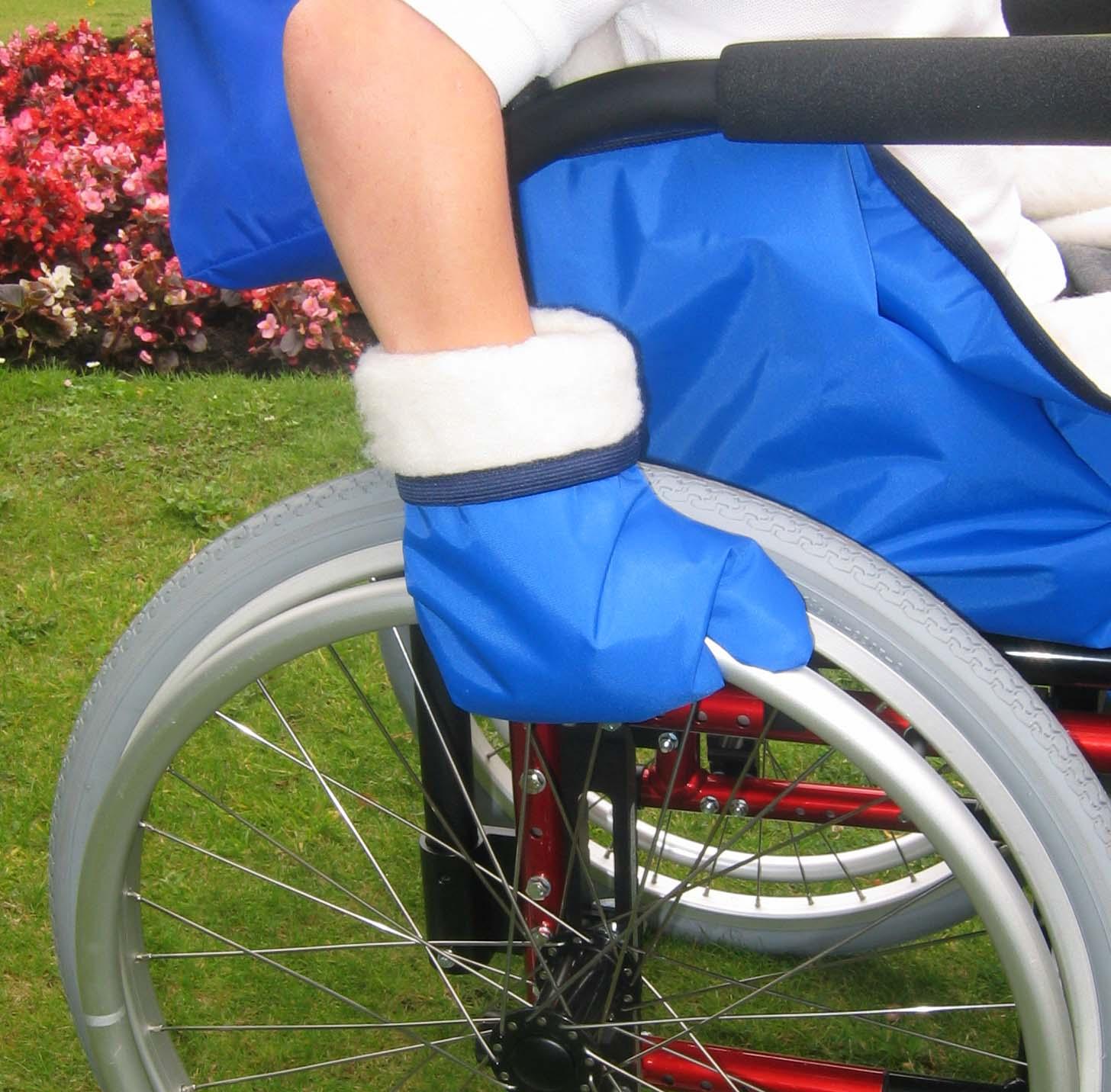 Guantes ni o para silla de ruedas - Silla de ruedas ninos ...