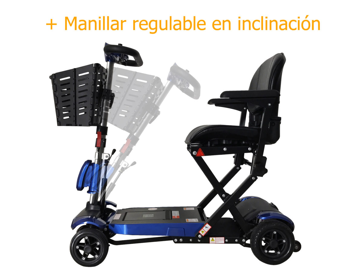 genie plus con manillar regulable inclinación