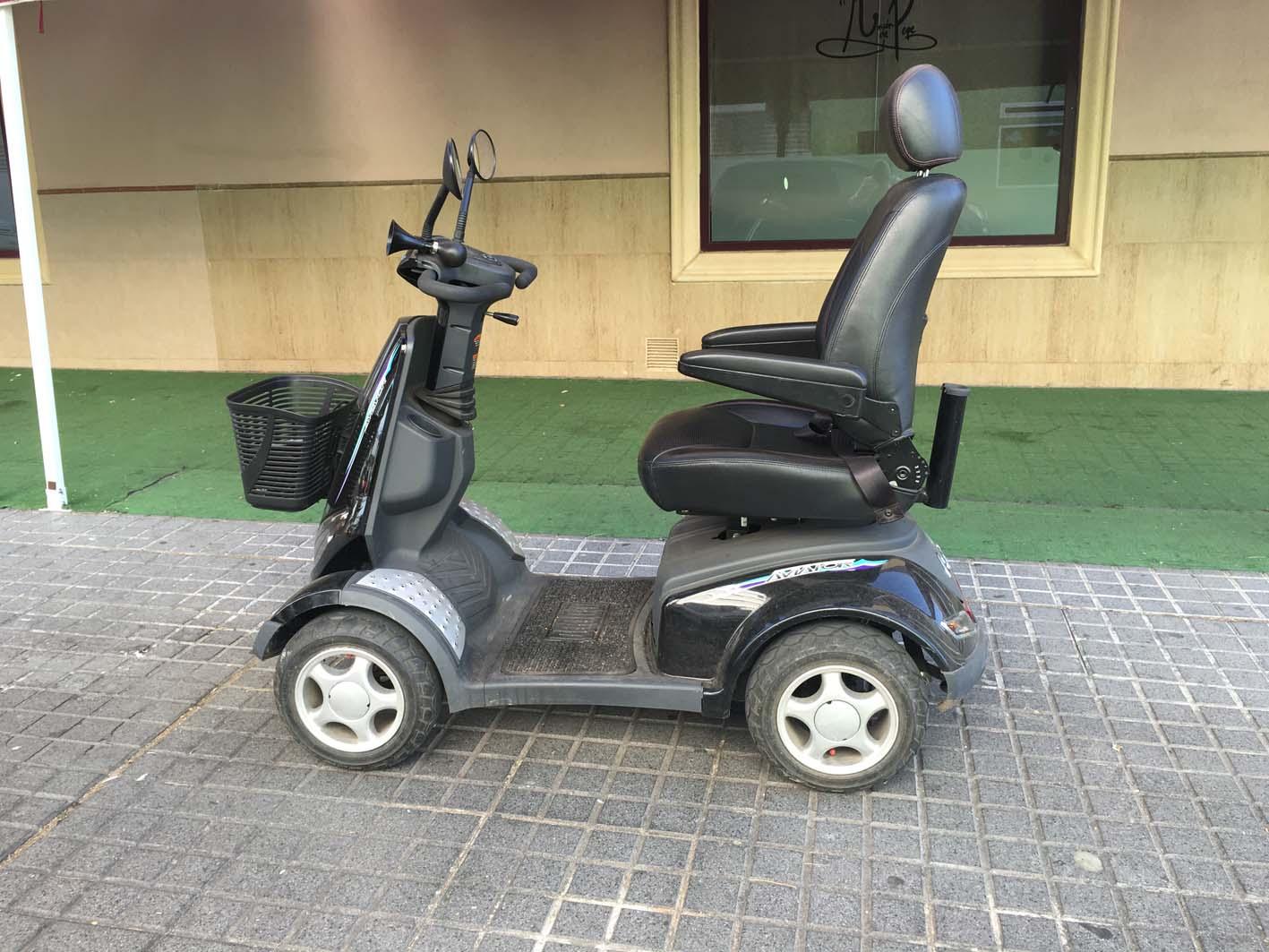 Scooter segunda mano apex aviator s8 scooters el ctricos y sillas de ruedas - Silla de ruedas electrica de segunda mano ...